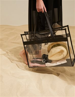 Beach Bag Black B20 CNT11