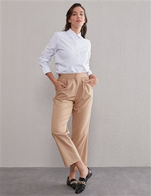 KYR Carrot Pants Beige A20 79556