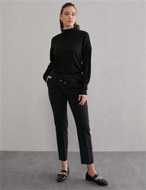 Classic Fit Pants B21 19033 Black