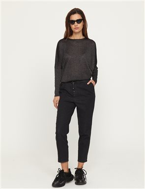 Skinny Leg Denim Pants B21 19078A Black