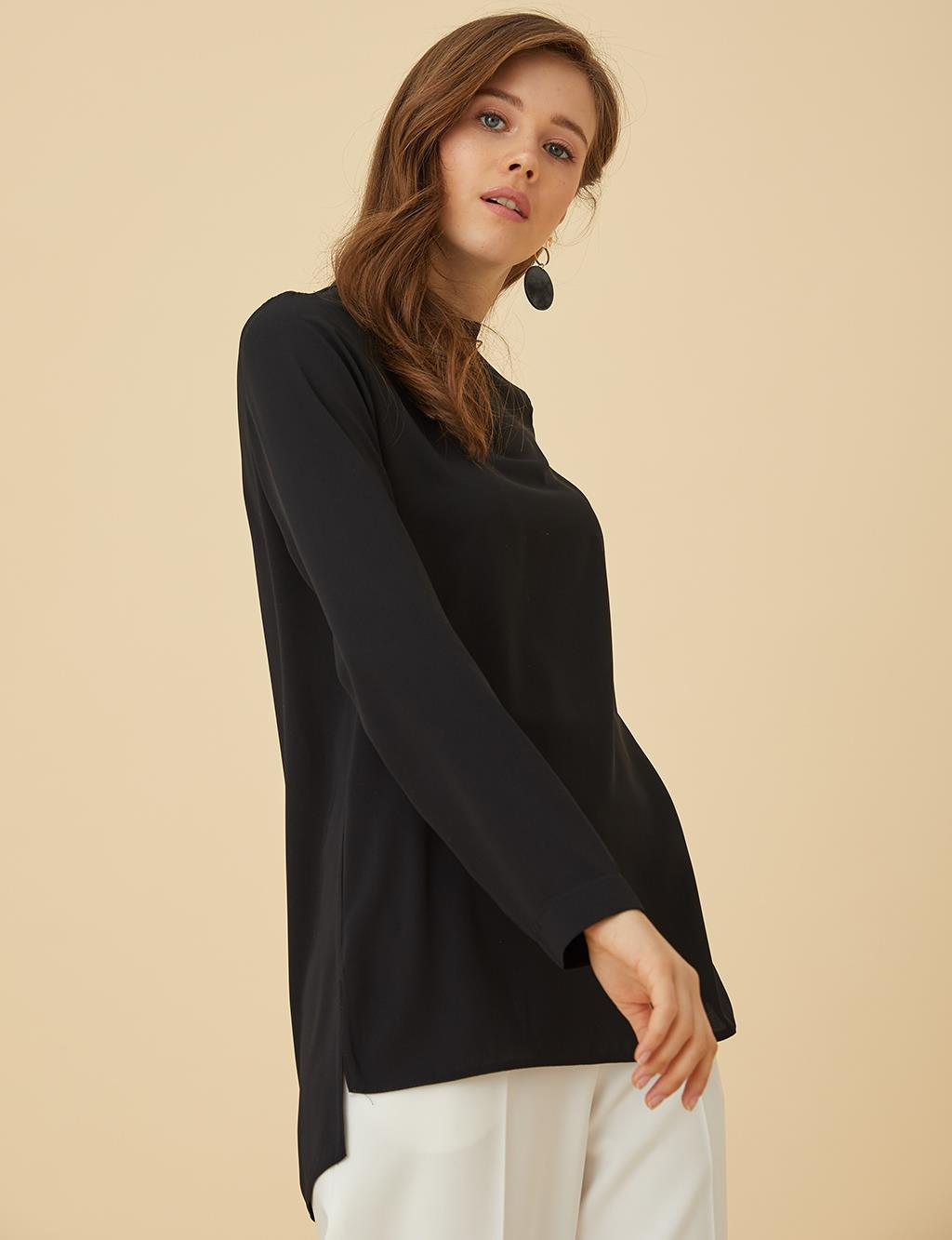 Basic Blouse SZ-10500 Black