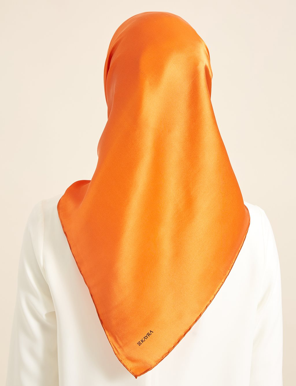 Silk Scarf Orange B8 ESP20
