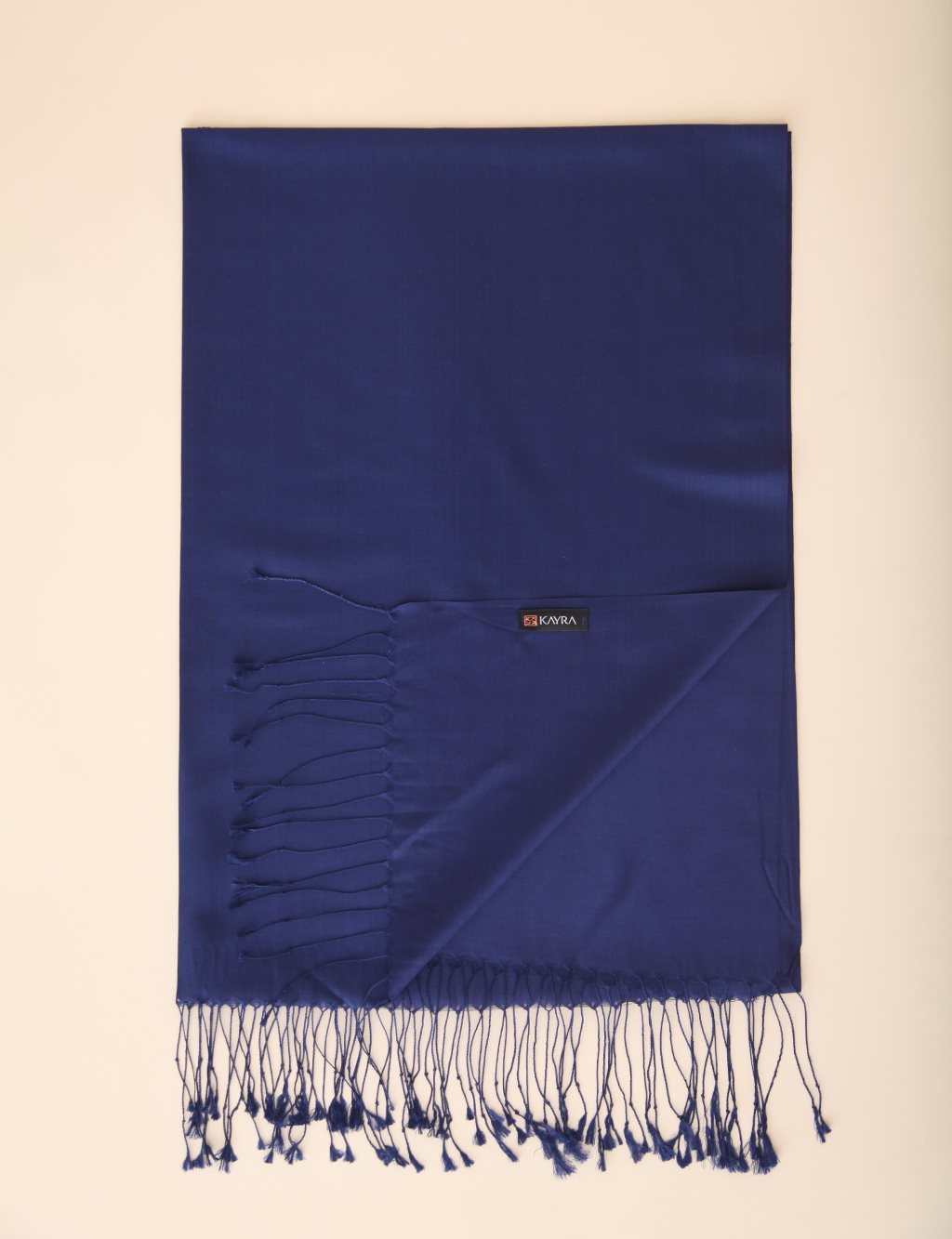 Double Sided Silk Shawl SZ SAL01 Night Blue