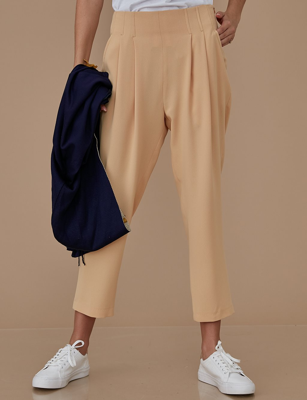 Pleated Pants A9 19052 Cream