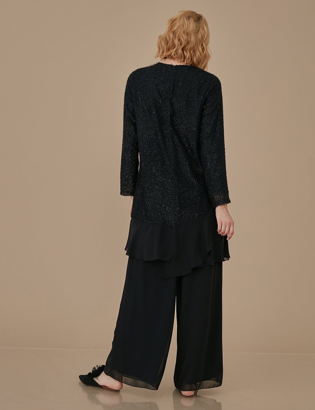 Jacquard Suit A9 16004 Black