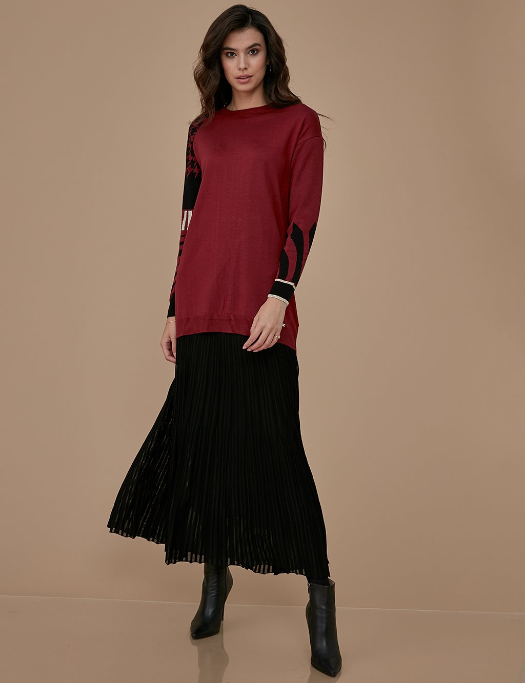Knitwear Skirt A9 TRK39 Black