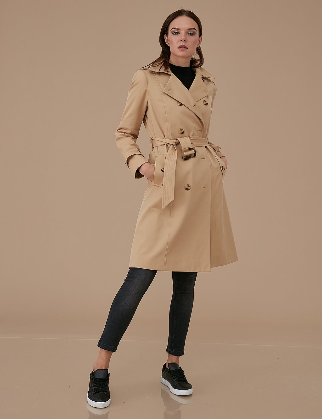 Classic Trenchcoat A9 14040 Beige