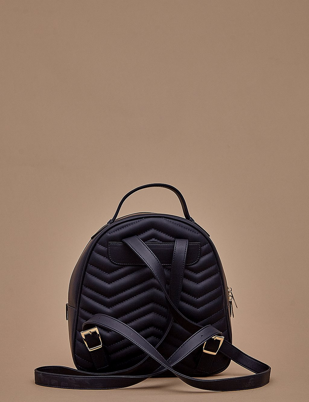 Quilted BackPack A9 CNT01 Navy