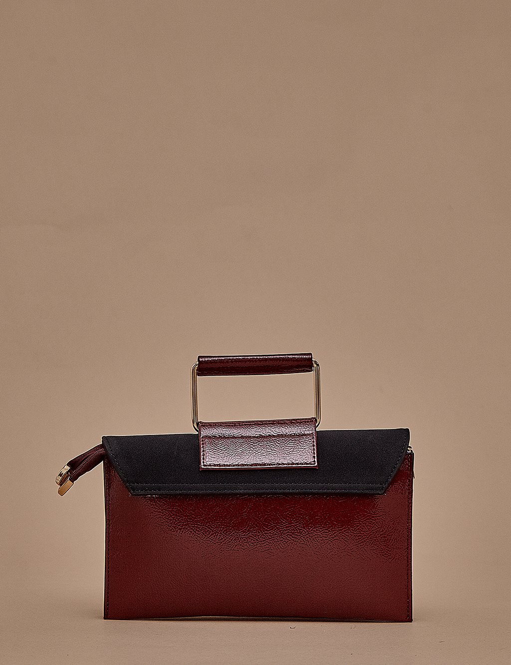Rectangle Hand Bag A9 CNT10 Plum