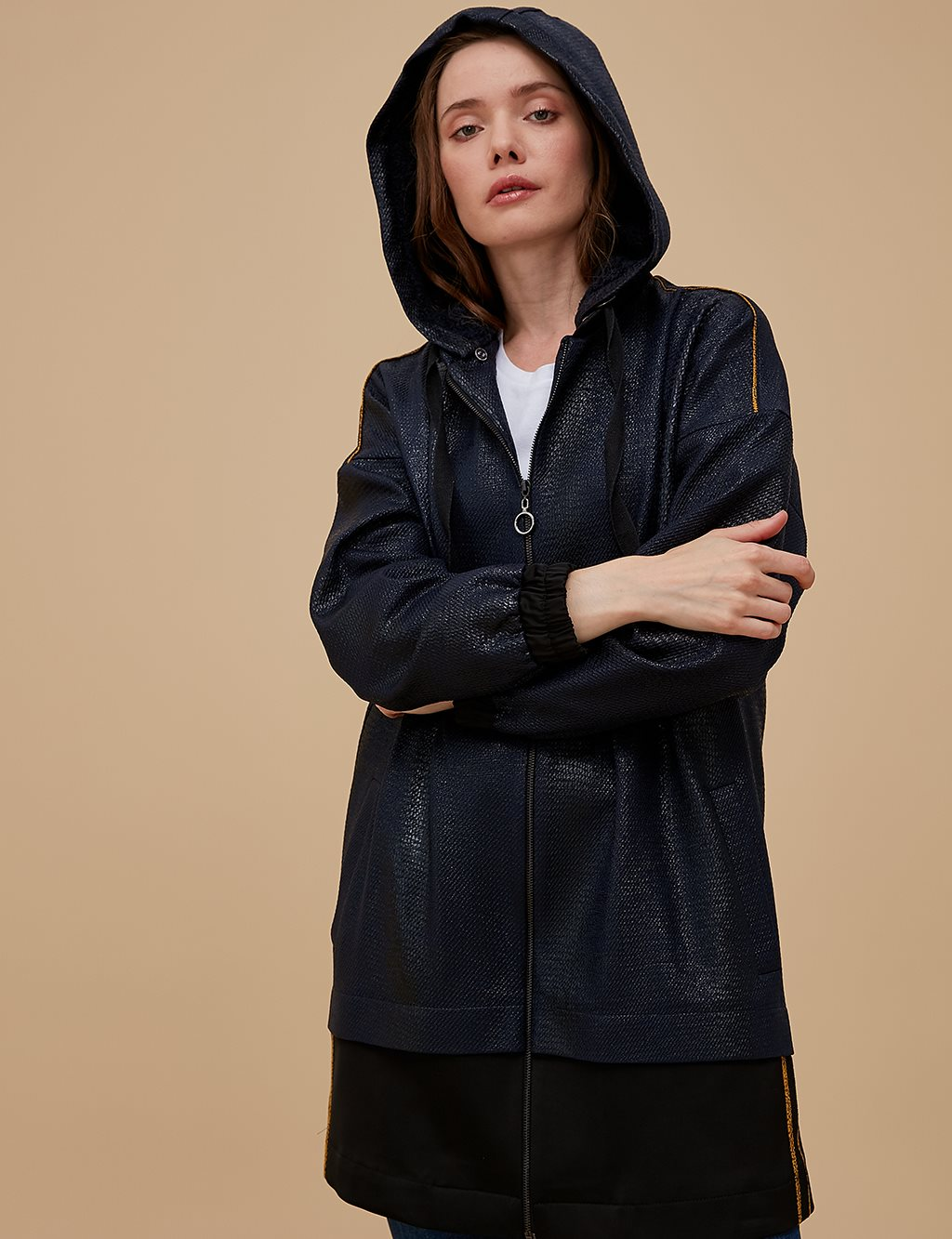 Sport Jacket with Hood A9 13120 Navy