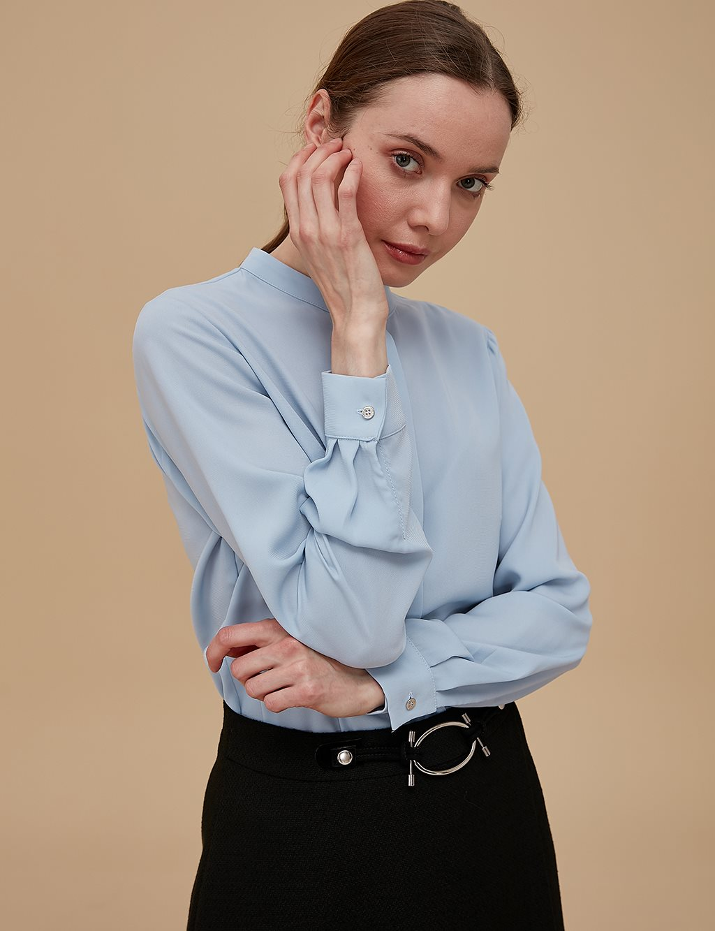 Basic Shirt SZ-11501 Light Blue