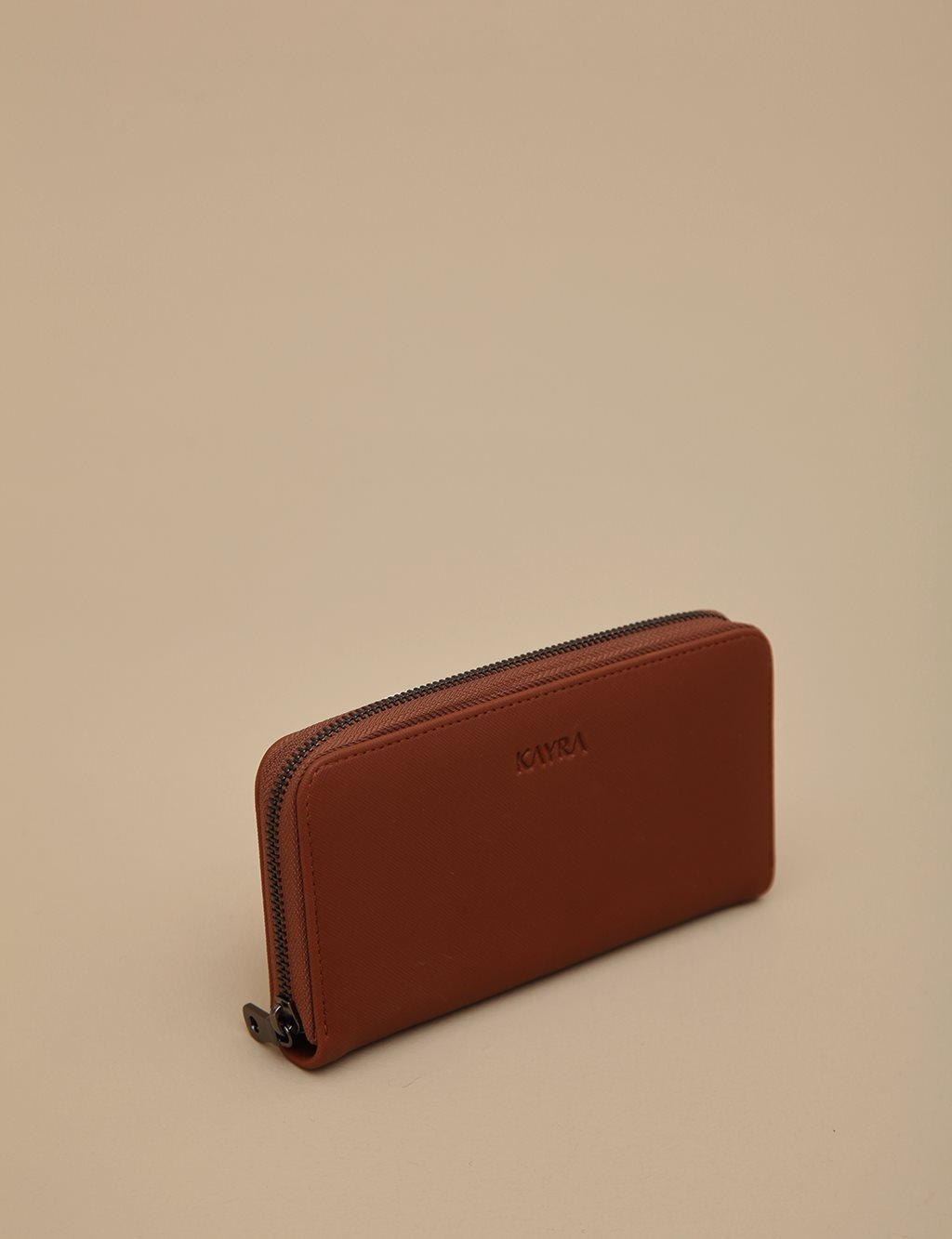 Artificial Leather Wallet A9 CZD01 Camel