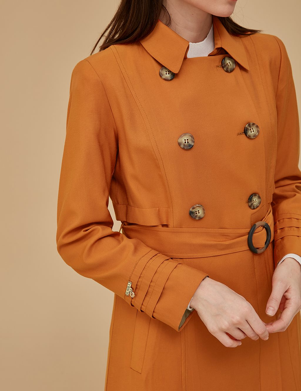 Overcoat With Belt A9 15033 Tile