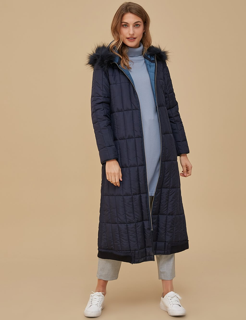 Double Sided Anorak A9 27020 Navy