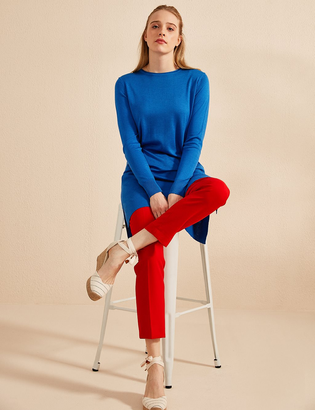 KYR Skinny Leg Pants B20 79006 Red