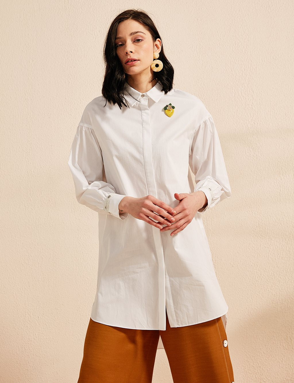 KYR Asymmetric Shirt B20 81001 White