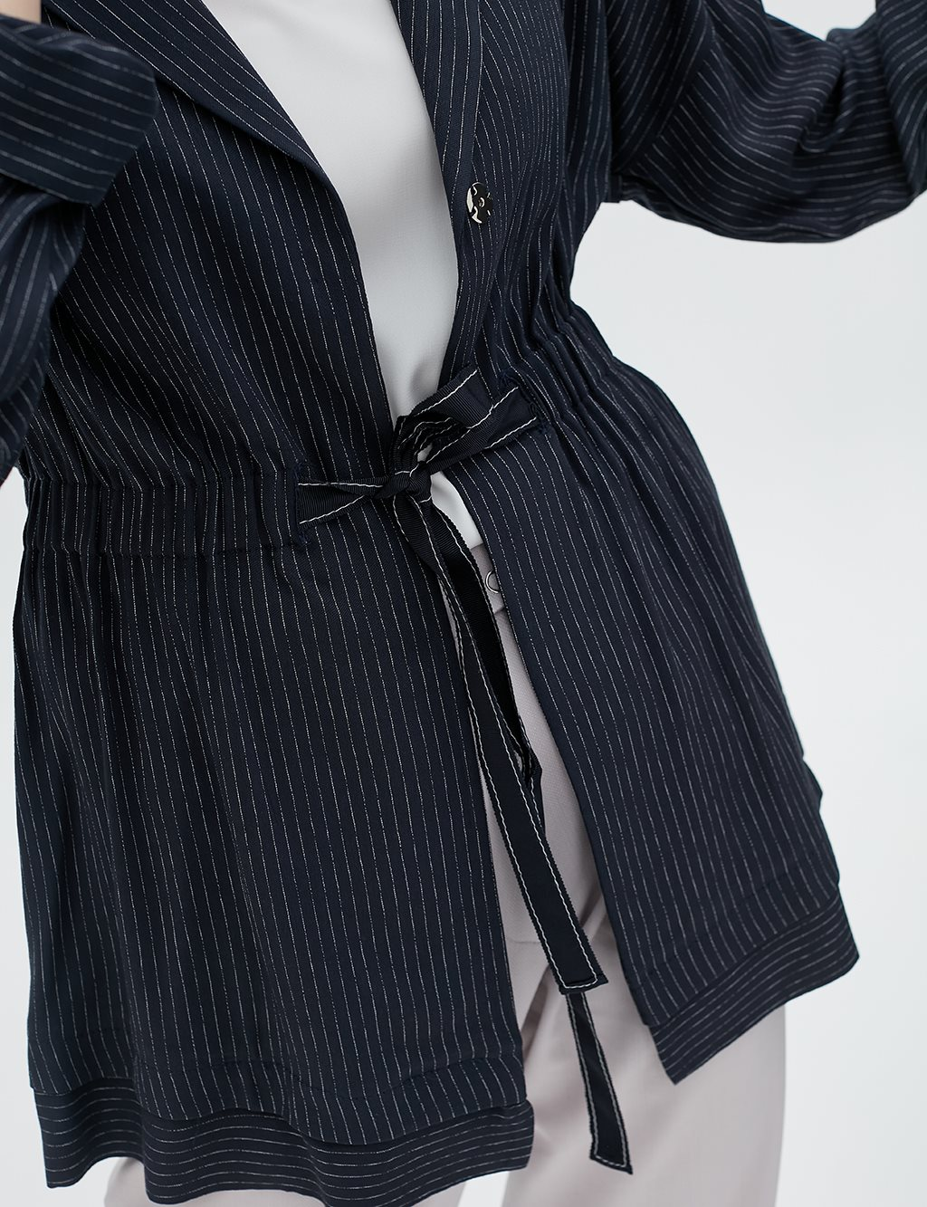 Ruched Jacket B20 13026 Navy