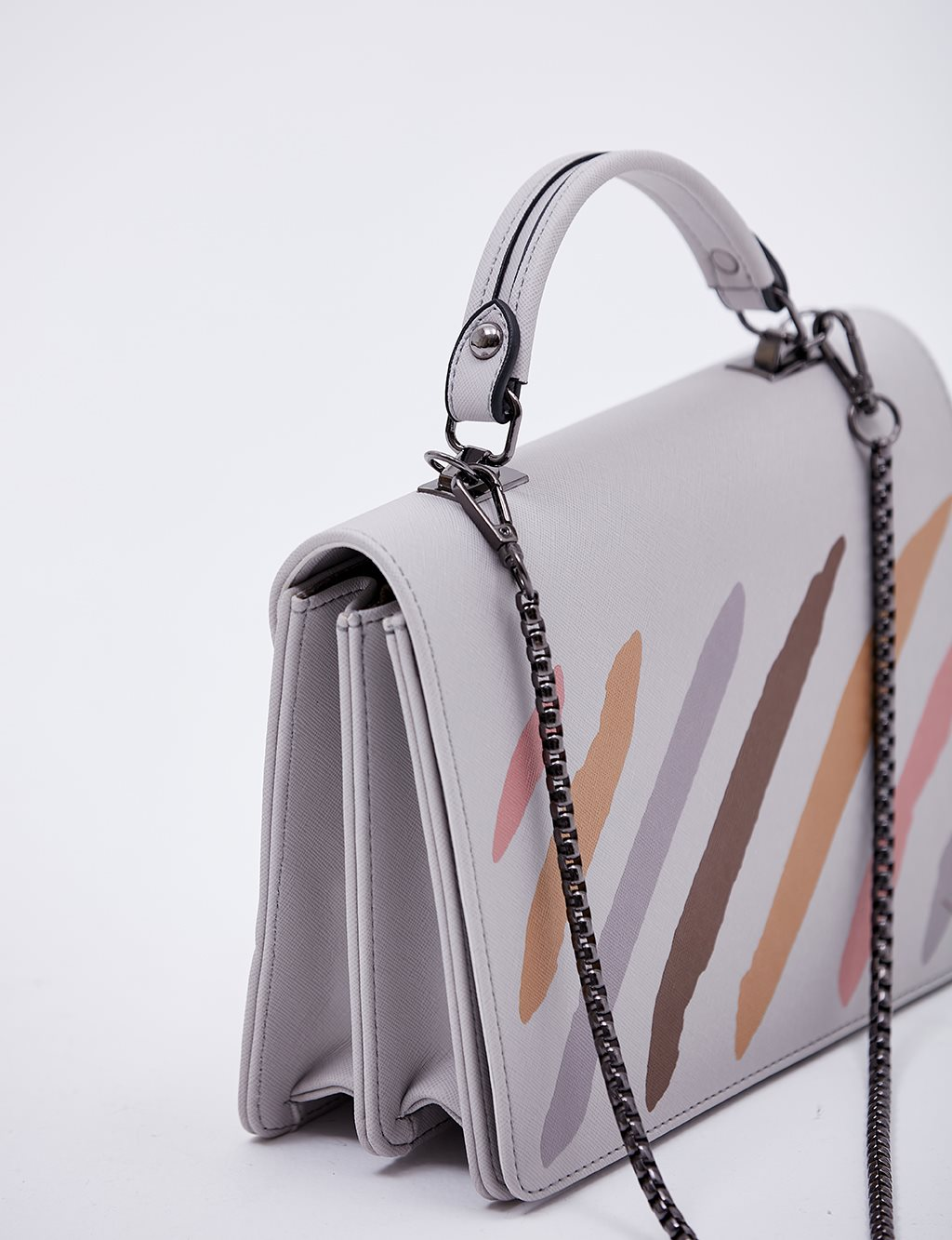 Colorful Hand Bag B20 CNT03 Grey