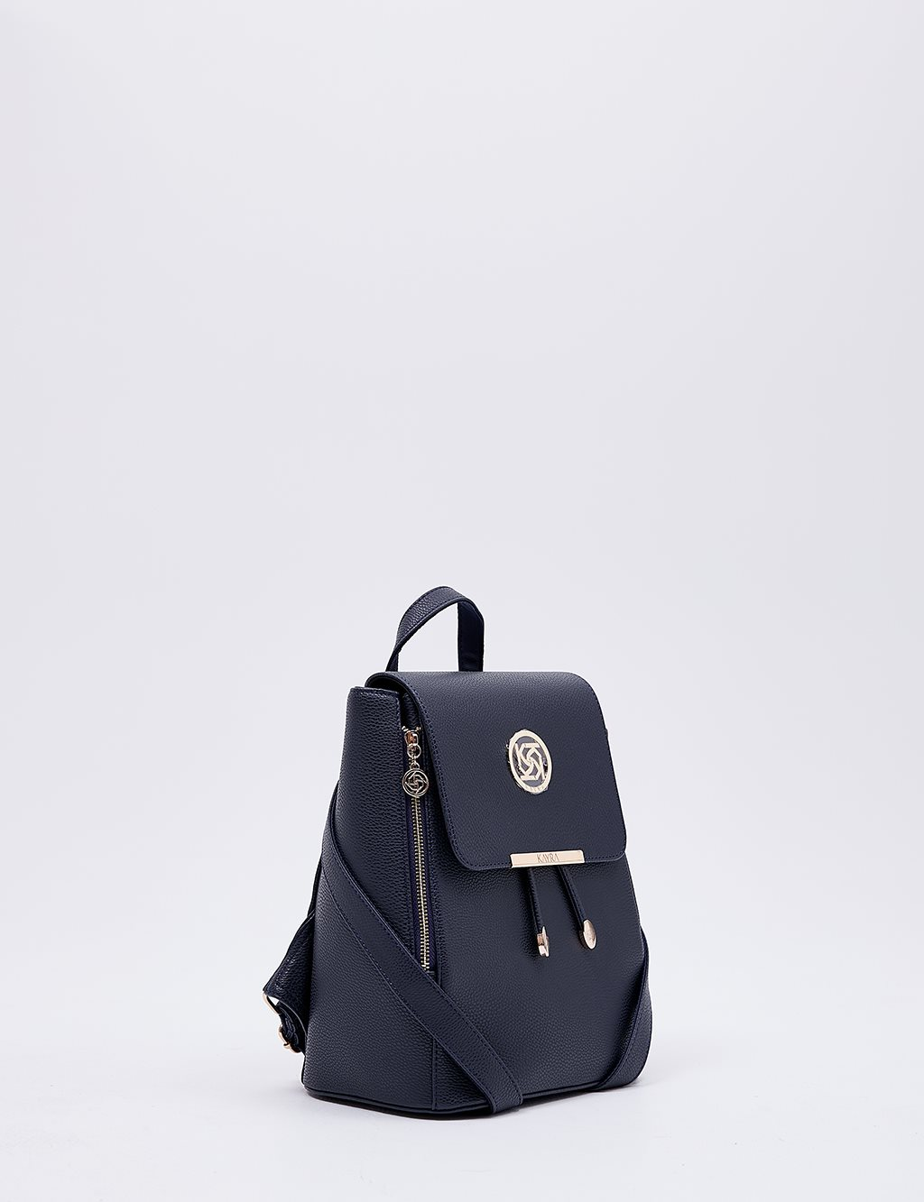Backpack With Zipper B20 CNT01 Navy