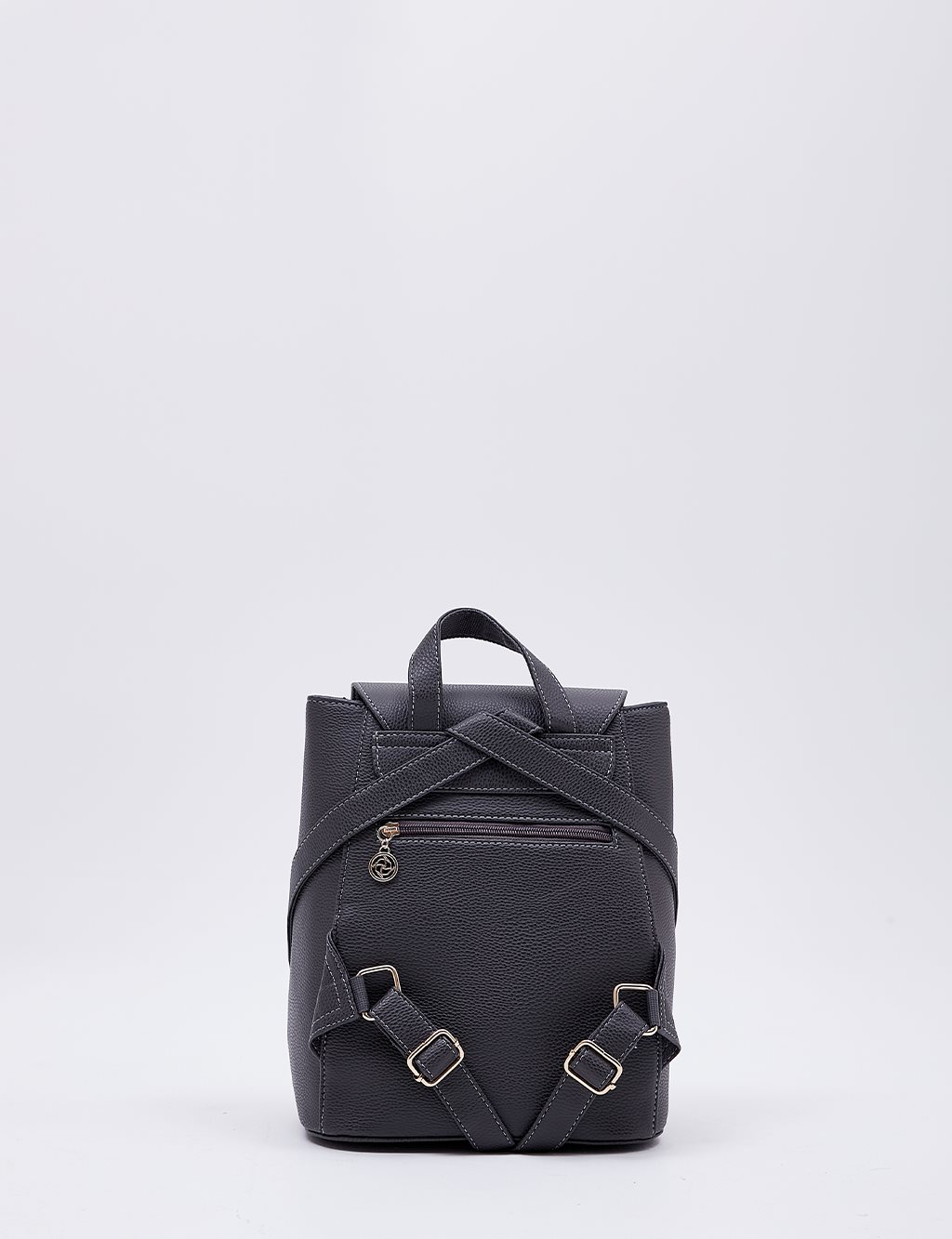 Backpack With Zipper B20 CNT01 Grey