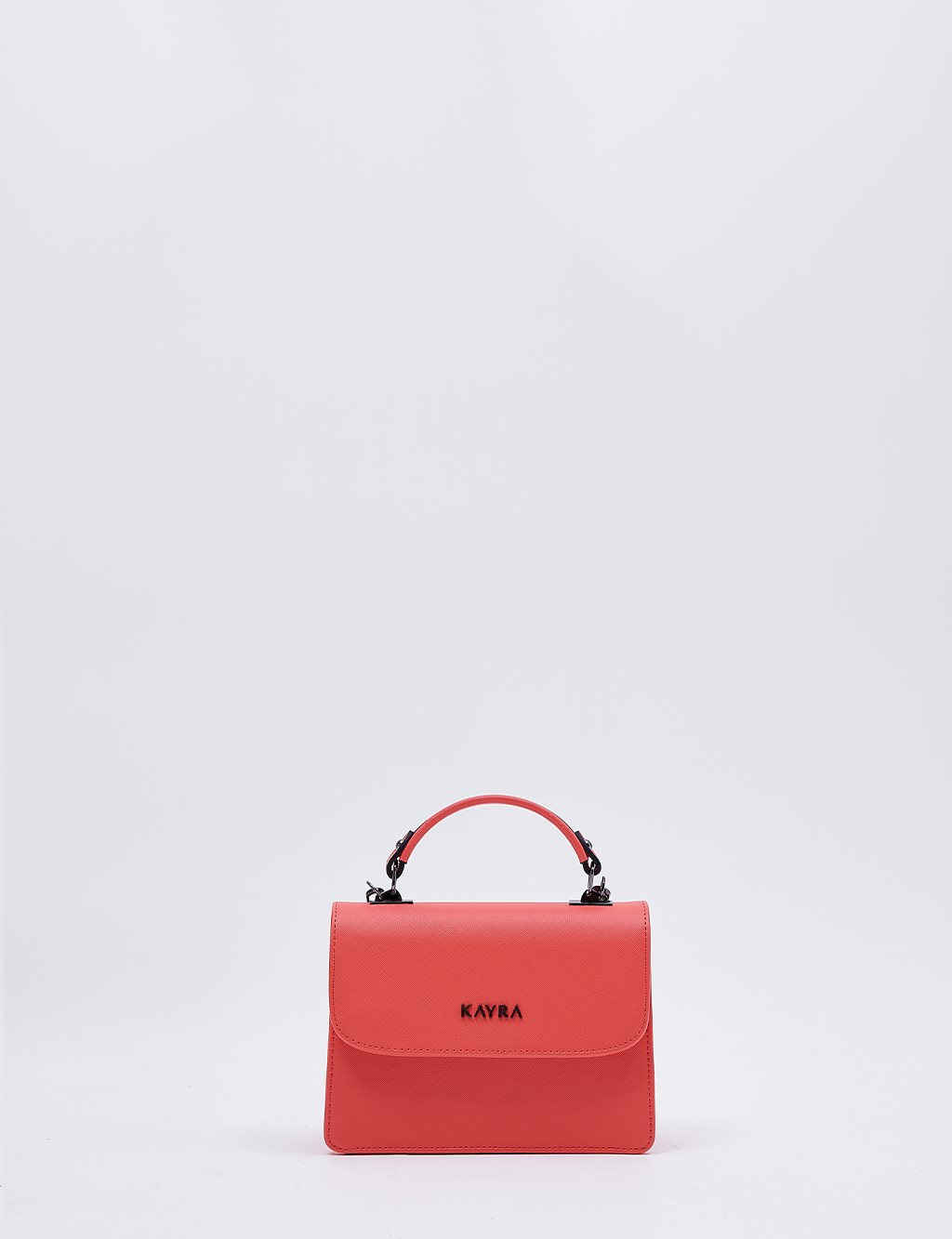 Hand Bag With Chain Strap B20 CNT04 Coral