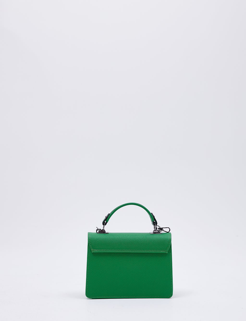 Hand Bag With Chain Strap B20 CNT04 Green