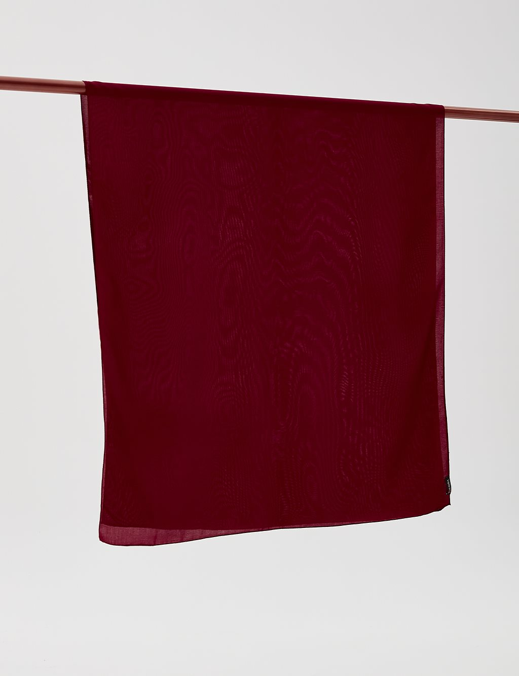 Cotton Shawl B20 SAL32 Burgundy
