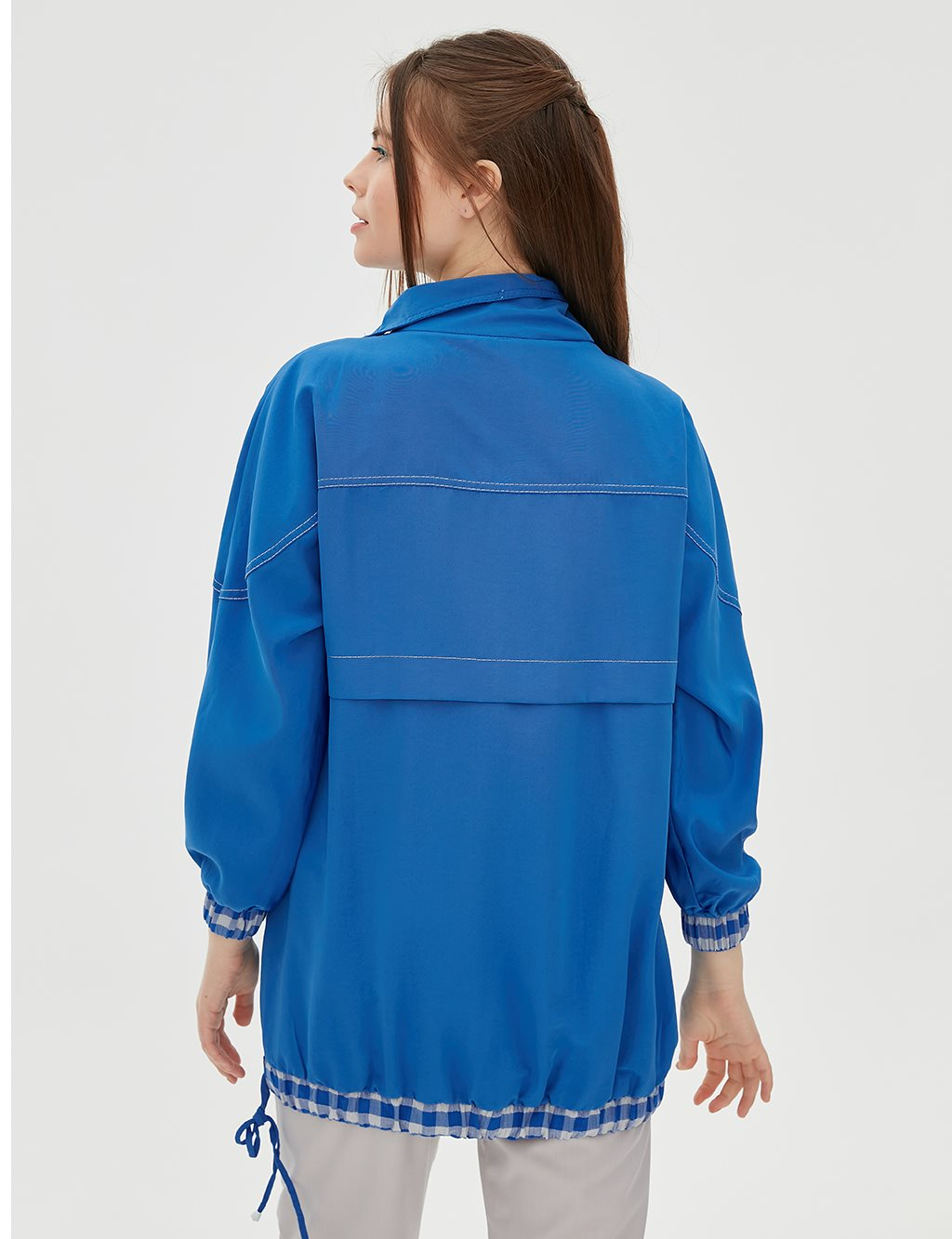 Ruched Tunic B20 21056 Blue