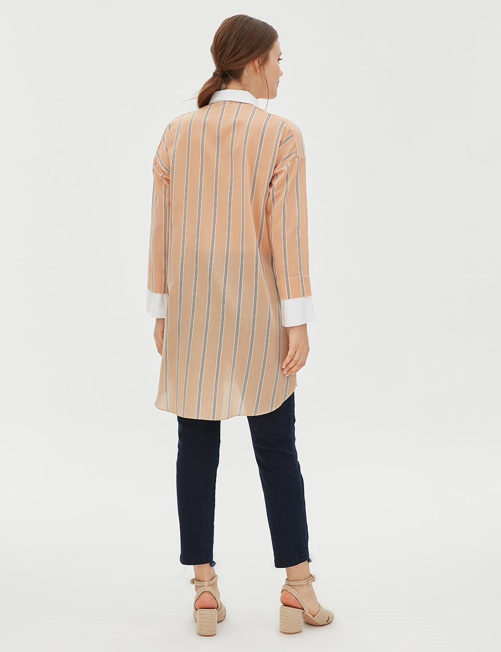 Tunic With Double Pocket B20 21117 Beige