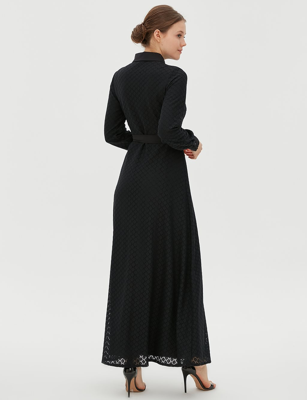 KYR Dress With Belt B20 83011 Black