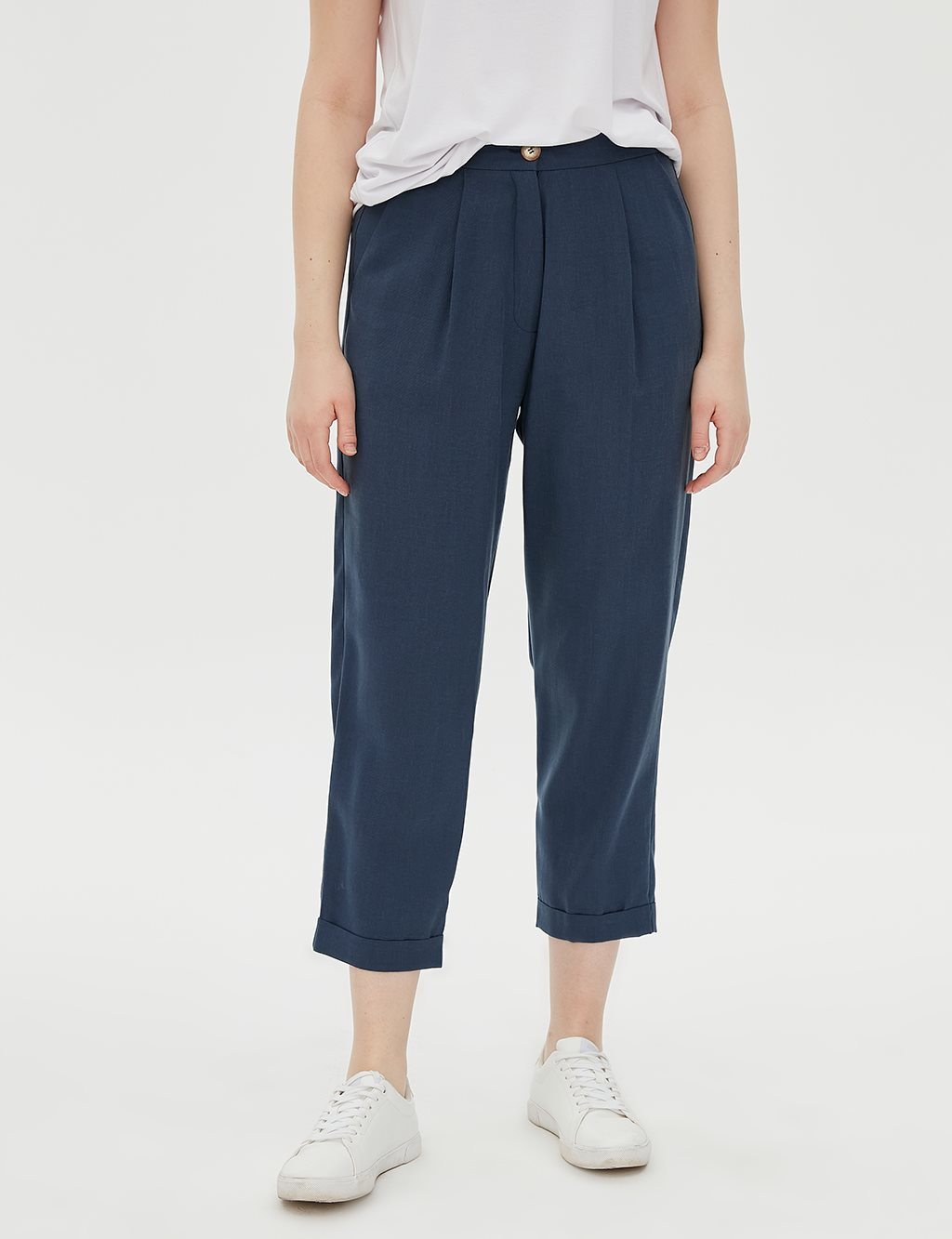 Elastic Pants B20 19151 Navy