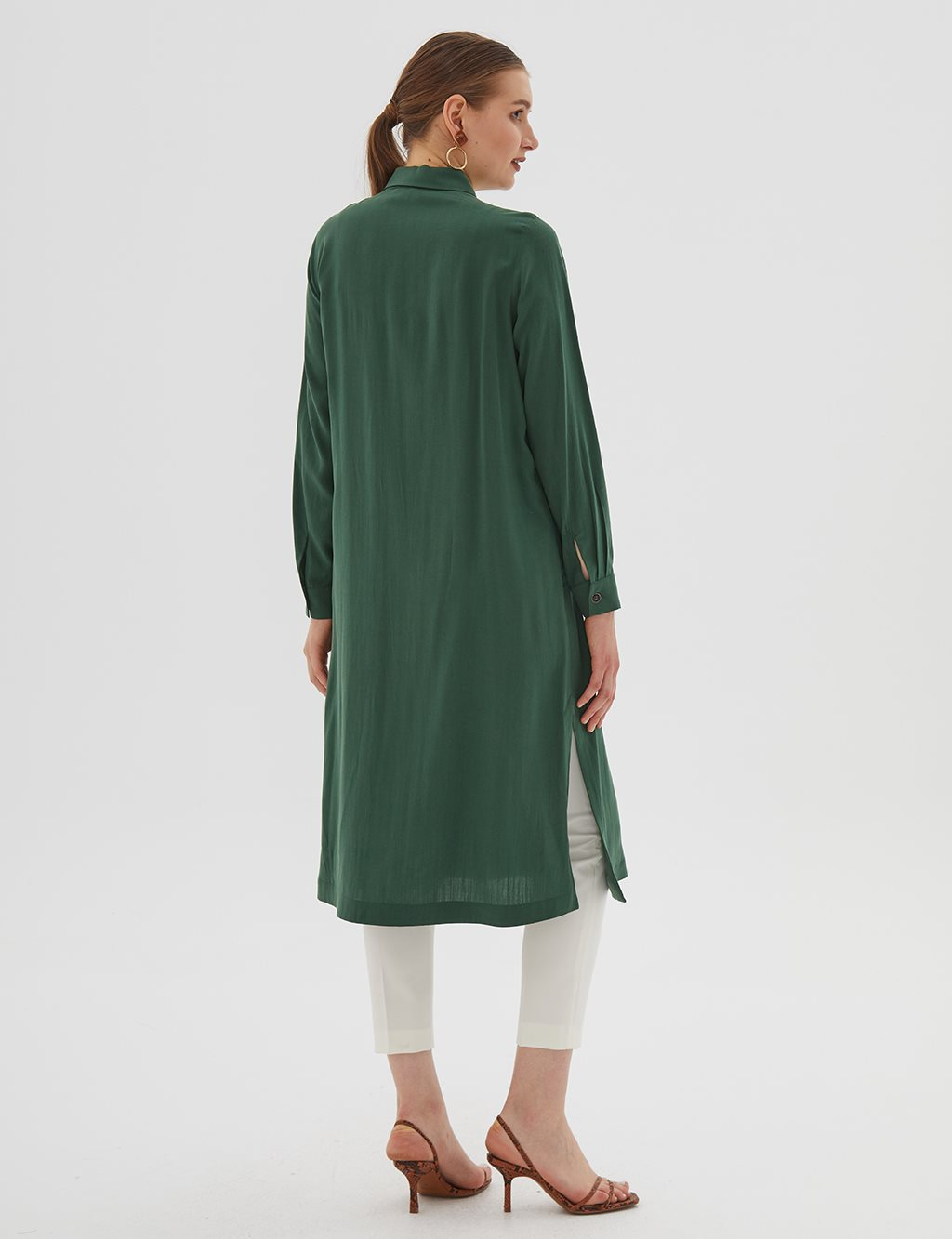 KYR Long Tunic B20 81015 Emarald