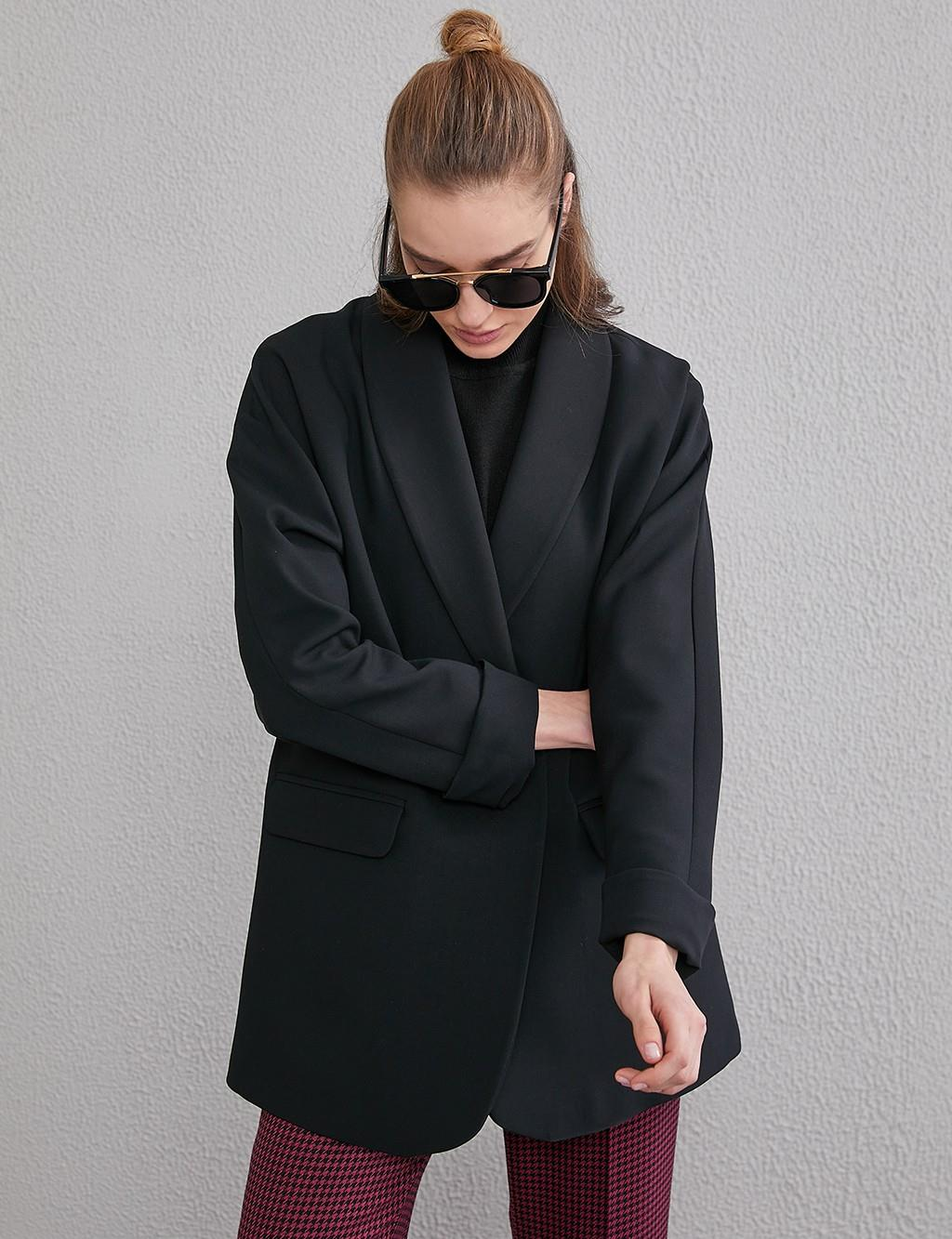 Jacket With Flap Pockets A20 13103 Black