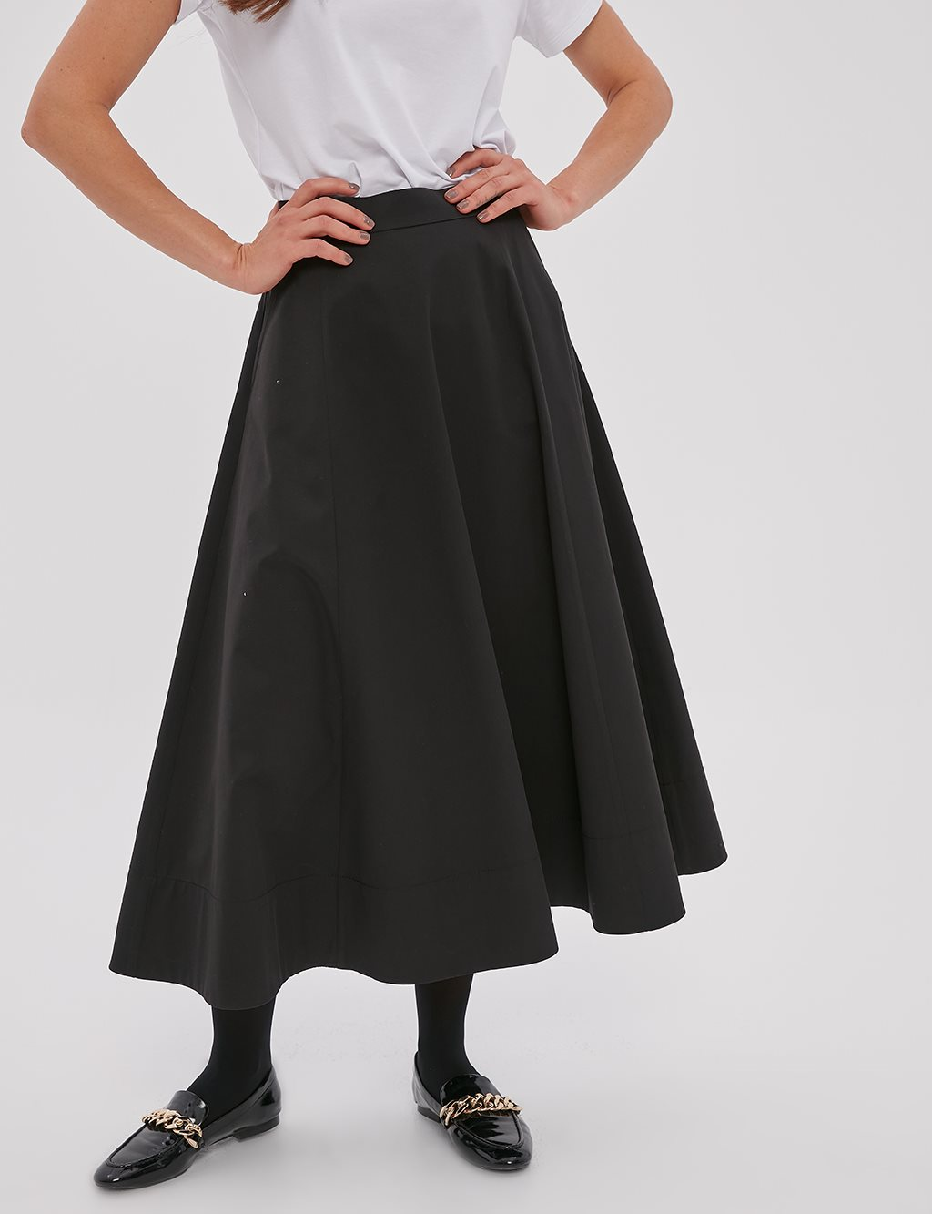 Flowy Skirt A20 12048 Black