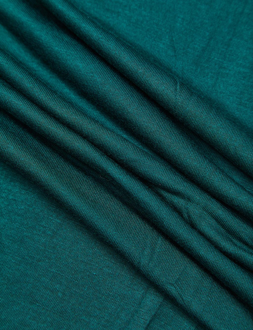Solid Color Combed Shawl B21 SAL21 Emerald